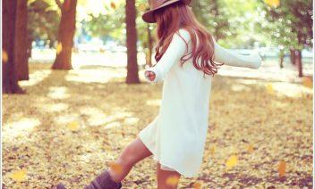 秋の可愛いコーデ中学生編!女の子らしいおすすめデート服は?